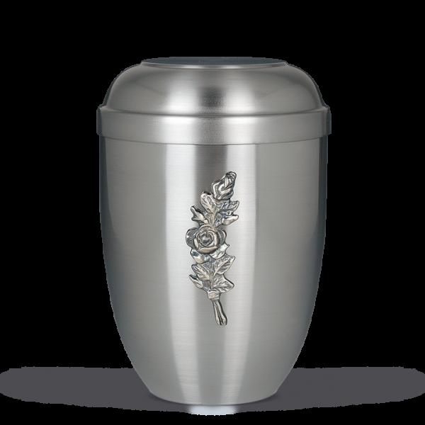 Urne ZIHESTA, Rosenbund Silber