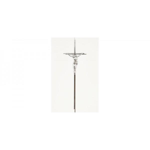 Kreuz glanz nickel mit Korpus