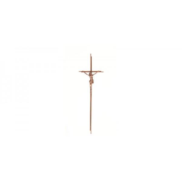 Kreuz kupfer patina mit Korpus